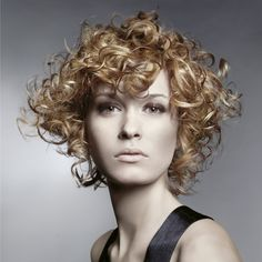 androgynous curly haircuts - Google Search
