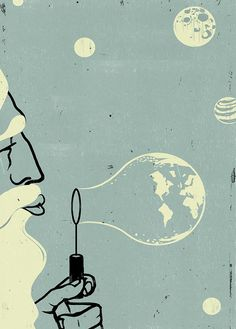 How God Created The Universe // Alessandro Gottardo