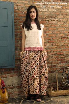 www.batikamarillis-shop.com Batik Amarillis Made in Indonesia Batik Amarillis's Bohemian Holiday skirt it's all about edginess,individual, romantic, and free-spirited..