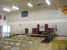 Pine Island High School in Pine Island, MN contacted Steve Lyons and Doug Pumarlo of Amramp Minnesota to rent these two wheelchair ramps for graduation day.