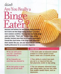 The difference between binge eating and overindulging and ways to avoid bingeing