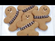 NERDY NUMMIES: How to Make Star Wars Gingerbread Wookiee Cookies