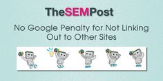 Facebook Twitter Google+ Pinterest LinkedIn Email WhatsApp SMSIf you never link to any other sites from your own site, could it be considered a penalty?  While most know that linking out to high authority sites doesn't make a site seem higher quality, recent outbound manual actions have definitely made it so that some site owners …