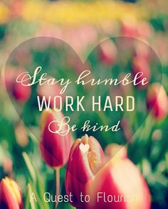 stay humble, work hard, be kind Stay Humble, Laptop Decal, Love And Light, Daily Quotes, Work Hard, Encouragement, Blog, Inspiration, Daily Qoutes