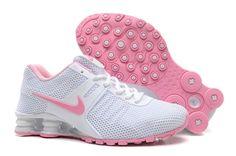 huge selection of dd52a 0d661 Nike Shox Current KPU Women Running shoes All White Pink Calzado Nike  Gratis, Baratas Zapatillas
