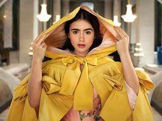 I would wear her little yellow cloak in a heartbeat.