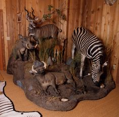 Trophy Rooms, Game Room, Exotic, Gallery, Creative, Hunting, Animals, Design, Art