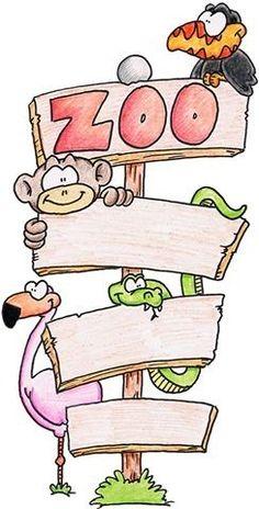 Papeis decoupage animais de zoológico | Imagens para Decoupage