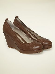 ALMOND WEDGE SHOE, from White Stuff.