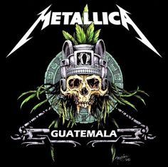 metallica artwork | Metallica in Guatemala by icarosteel on deviantART