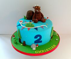 Gruffalo birthday cake, via Flickr.