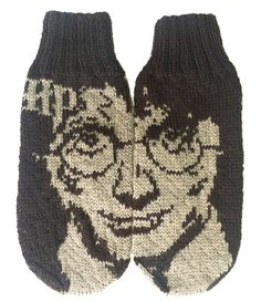 Ravelry: Harry Potter mittens by Emolas Design