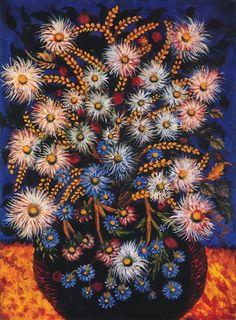 Séraphine Louis de Senlis Claude Monet, Senlis France, Henri Matisse, Still Life Flowers, Madhubani Art, Art Brut, Dutch Painters, Naive Art, Aboriginal Art