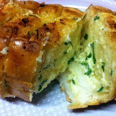 Deliciosa pasta para pão de alho