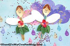 Wooden Spoon Fairies - Kid Craft