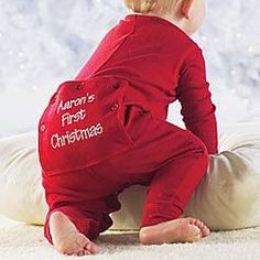 The 37 best My First Christmas Pajamas images on Pinterest ...