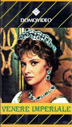 Venere Imperiale (1963) VHS DomoVideo Gabriele Ferzetti, Gina Lollobrigida
