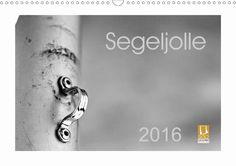Segeljolle - CALVENDO Kalender von Nihat Uysal - #calvendo #calvendogold #kalender #fotografie #segeln #schwarzweiss #segel #boot