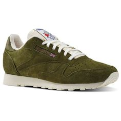 Find your Reebok Green at reebok. All styles and colours available in the  official Reebok online store. Reebok - Classic Leather Clean UJ
