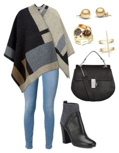 """""""Untitled #1325"""" by cecilia-rebecca-stagrum-buch on Polyvore featuring 7 For All Mankind, Burberry, Vince, Chloé and Effy Jewelry"""