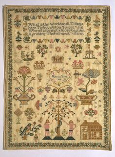 Samplers from the Collection | VA 1810