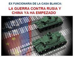 EX-FUNCIONARIA de la CASA BLANCA: La GUERRA contra RUSIA y CHINA ya ha EMPEZADO