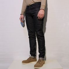 """Japan Blue - Model JB0304 """"African Cotton"""" Selvedge Narrow Tapered"""