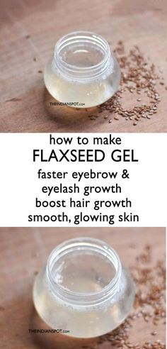 HOW TO MAKE FLAXSEED GEL