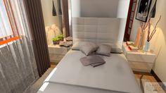3D plan of Bedroom