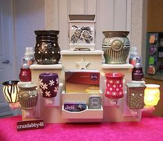 Perfect Display for Scentsy Rep. I NEED this