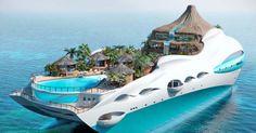 Floating paradise!