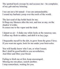 of myself essay song of myself essay