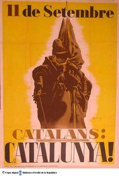 Catalans: Catalunya! : 11 de setembre :: Cartells del Pavelló de la República (Universitat de Barcelona)