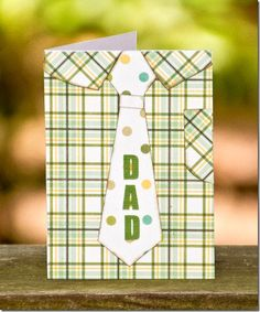 Free SVG – Father's Day Card