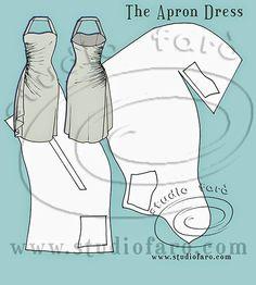bien adapté: Motif Puzzle - La robe tablier