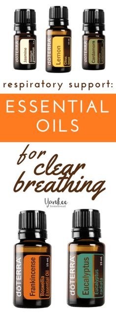 When targeting respiratory health, you'll primarily want to use these essential oils topically and aromatically. To maintain general wellness, I recommend working a consistent method into your daily routine.