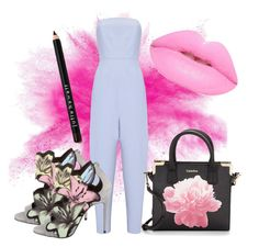 """""""Pastel colours!!!"""" by rfaizaxx ❤ liked on Polyvore featuring Whistles, Pierre Hardy, Calvin Klein and Lime Crime"""