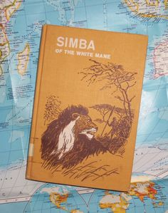 SIMBA of the WHITE MANE by Jocelyn Arundel by BunnysLuck on Etsy, $8.99