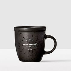 Classic Demi Mug - Black. The classic, comfortable shape that's been a favorite (and collectible) for years.