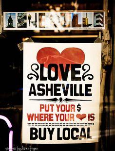 asheville, nc--love it! <3