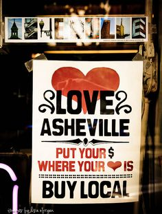 asheville, nc--love it! <3