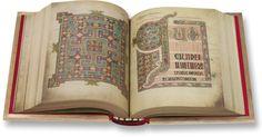 Buch von Lindisfarne - Faksimile Verlag, München