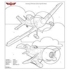 Disney's Planes Coloring Page