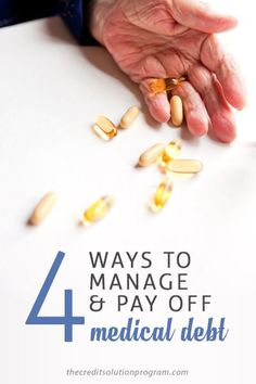Medical bills can be astronomical today and really put you in a financial pinch. Here are 4 ways to manage and pay off medical debt so that you don't go bankrupt.