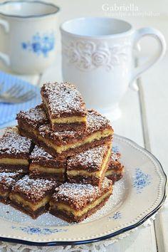 Gabriella kalandjai a konyhában :): Lemezes linzer Hungarian Cake, Hungarian Recipes, Hungarian Food, Cookie Desserts, Cake Cookies, Food To Make, French Toast, Food Porn, Food And Drink