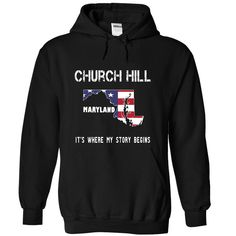 #Funnytshirts... Cool T-shirts  Price :$34.00Purchase Now    Low cost Codes   View pictures & photographs of CHURCH HILL - Its where my story begins! t-shirts & hoodies:When you don't completely love our design, you possibly can SEARCH your favourite one throug...