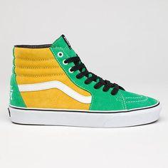 Pearl Jam Vans. In green. OMG.