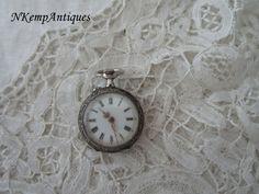 Antique chatelaine  watch  restoration project by Nkempantiques