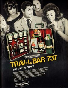 "Trav-L-Bar - ""The Take 'n' Shake"" My daugher says, you know you have a problem when you have a case just for your ""travel"" liquor lol"