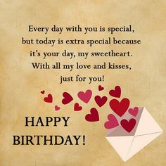 Happy Birthday Wishes for Boyfriend Images, Messages and Quotes